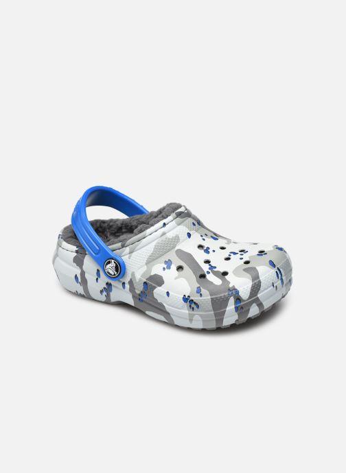 Chaussons Crocs Classic Lined Camo Cg K Vert vue détail/paire