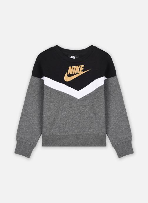 Kleding Nike Go For Gold Crew Grijs detail