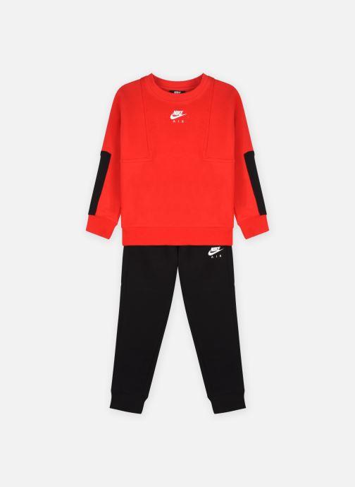 Vêtements Nike Nkb Air Crew + Pant Set Rouge vue détail/paire