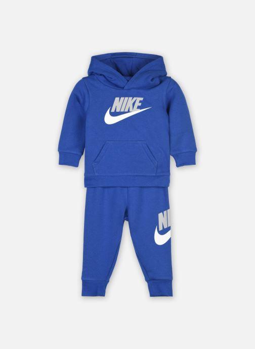 Vêtements Nike Nkb Club Hbr Po Jogger Set Rose vue détail/paire