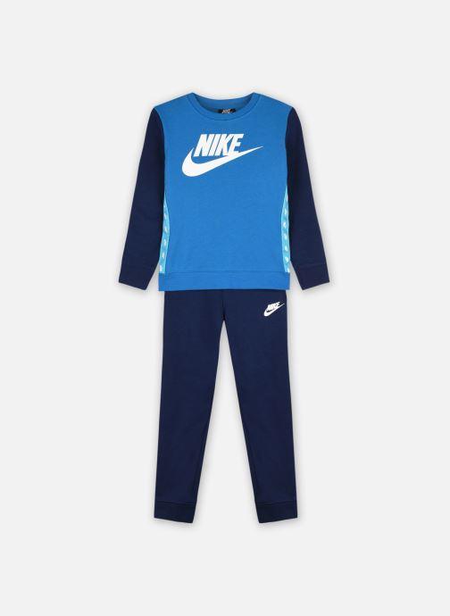 Vêtements Nike Nkb Elevated Trims Crew Set Bleu vue détail/paire