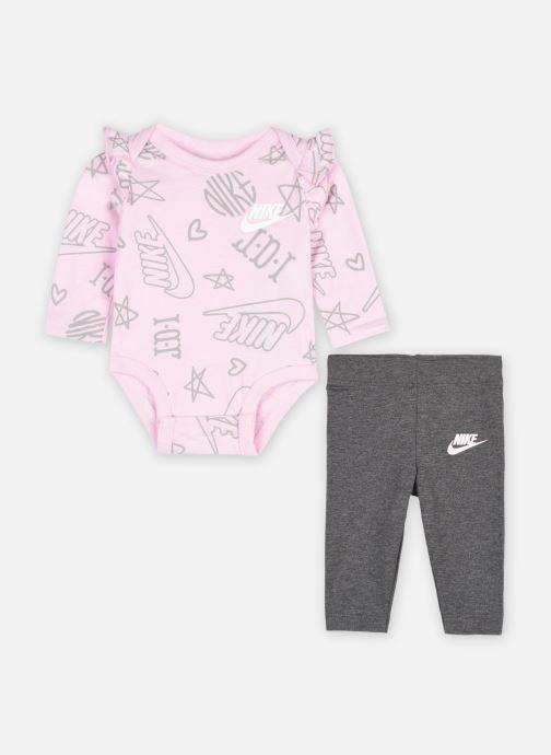 Vêtements Nike Nkg Flutter Body Suit Pant Set Gris vue détail/paire