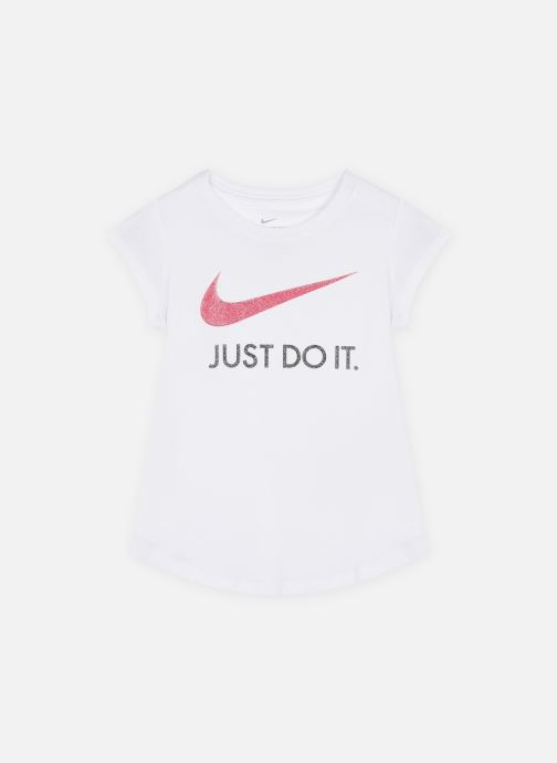 Kleding Nike Swoosh Jdi S/S Tee Wit detail