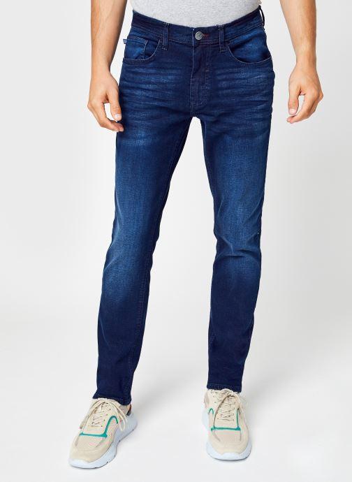Tøj Blend Twister fit Blå detaljeret billede af skoene