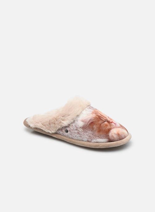 Pantuflas Mujer Mule Plate – Microvelours W