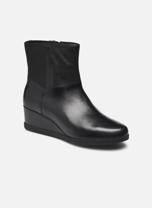 Stiefeletten & Boots Geox D ANYLLA WEDGE D04LDH schwarz detaillierte ansicht/modell