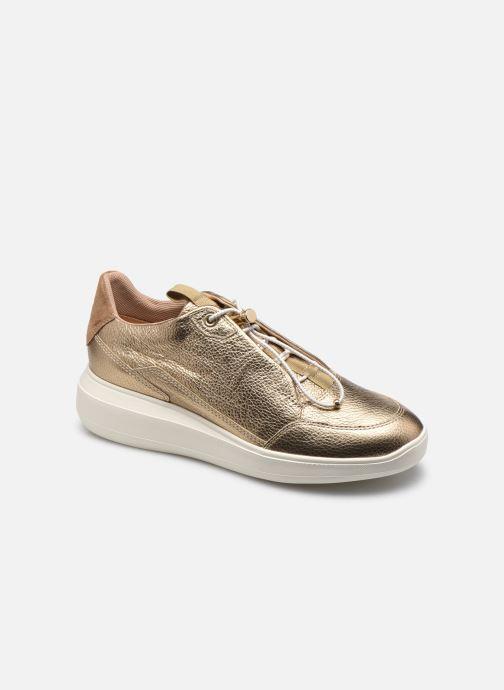 Sneakers Geox D RUBIDIA D04APB Goud en brons detail