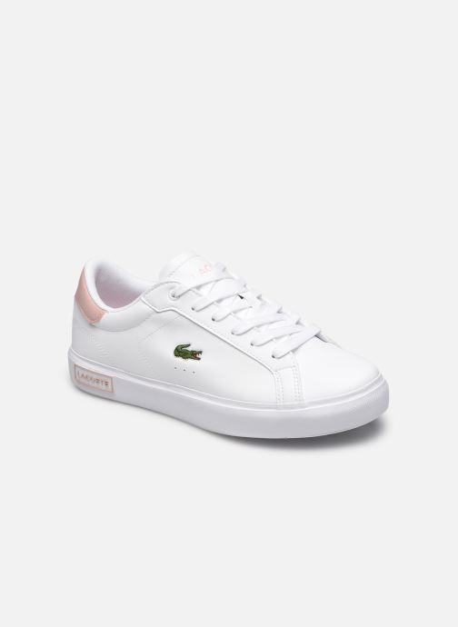 Sneaker Lacoste Powercourt 0721 1 Suj weiß detaillierte ansicht/modell