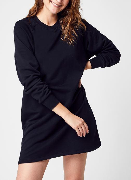 Kleding Noisy May Nmlupa L/S Sweat Dress Noos Zwart detail