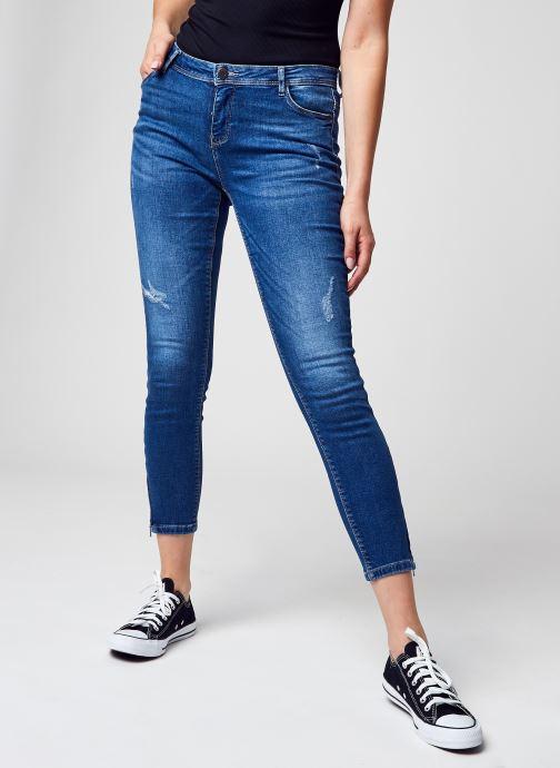 Vêtements Noisy May Nmkimmy Nw Ank Dart Jeans Az157 Mb Noos Bleu vue détail/paire