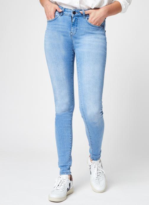 Ropa Noisy May Nmlucy Nw Skinny Jeans Lb Noos Azul vista de detalle / par