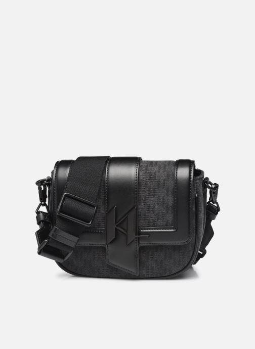 Handtaschen Karl Lagerfeld K/Saddle Bag Mono Dnm Sm schwarz detaillierte ansicht/modell