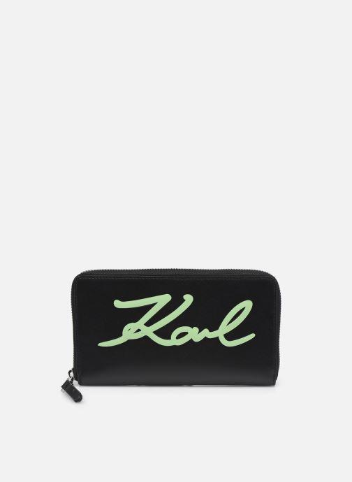 Kleine lederwaren Tassen K/Signature Cont Zip Wallet