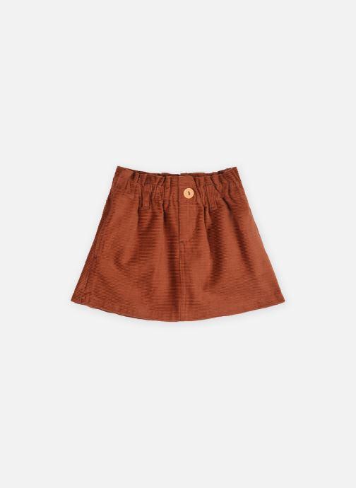 Vêtements Arsène et les Pipelettes Jupe Alegria Orange vue détail/paire