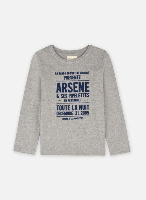 Vêtements Arsène et les Pipelettes T-shirt Arsène Gris vue détail/paire