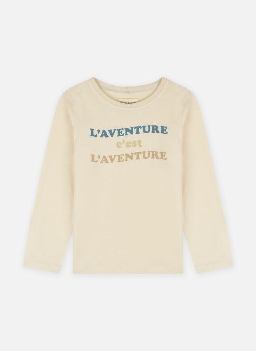 Vêtements Arsène et les Pipelettes T-shirt Aladin Blanc vue détail/paire