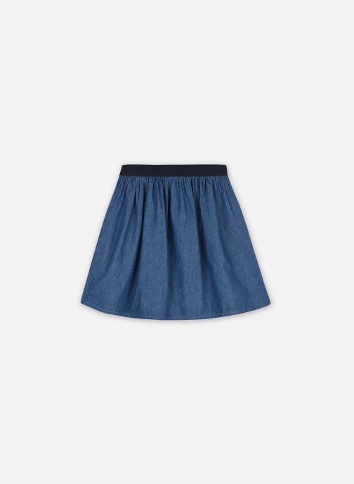 Kleding Monoprix Kids Jupe en chambray Blauw detail