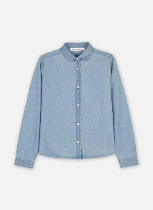 Vêtements Monoprix Kids Chemise chambray col claudine Bleu vue détail/paire