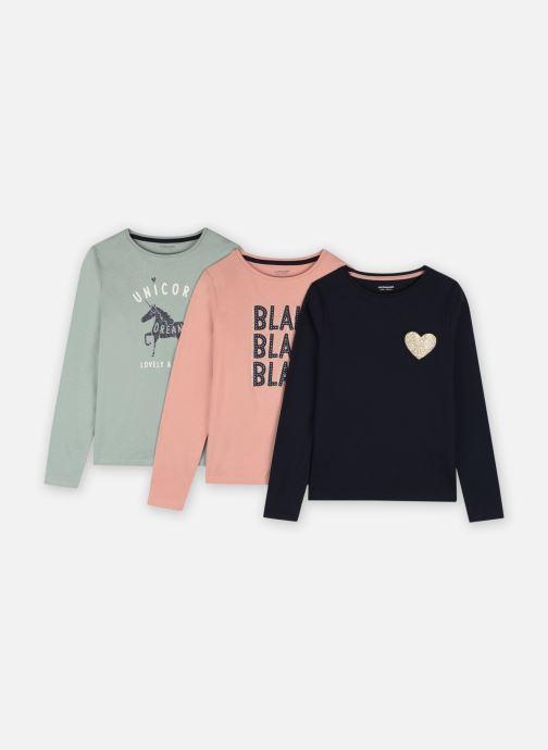 Vêtements Vertbaudet LOT DE 3 ML BASICS Multicolore vue détail/paire