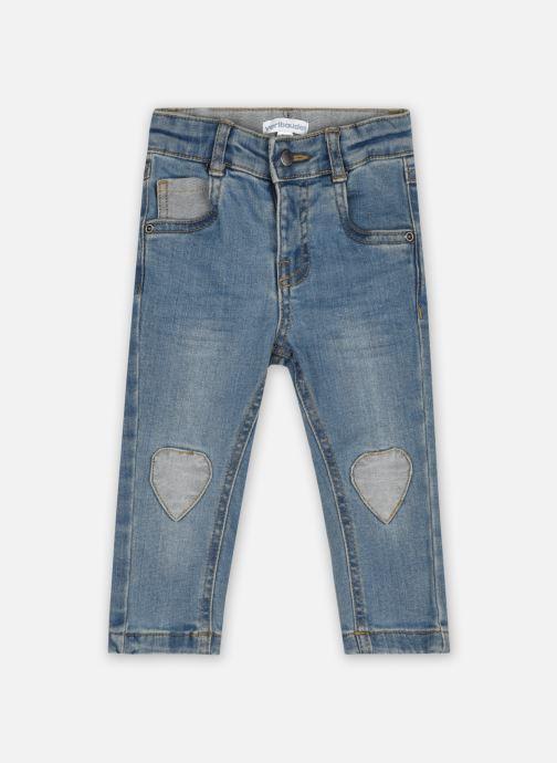 Vêtements Accessoires pantalon denim  patch coeur