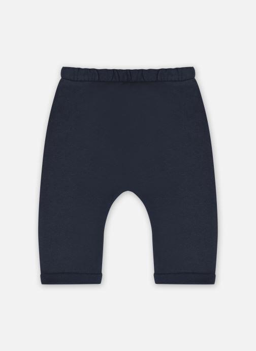 Vêtements Vertbaudet PANTALON MOLLETON INC Bleu vue détail/paire