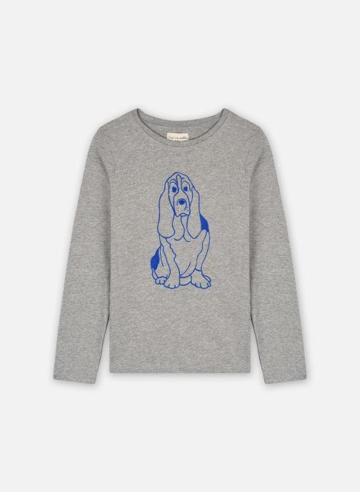 Vêtements Arsène et les Pipelettes T-shirt Auguste Gris vue détail/paire