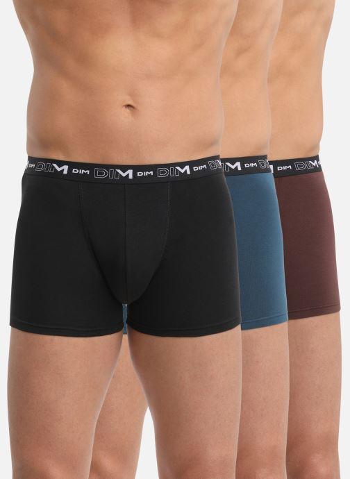 Vêtements Dim Coton Stretch Boxer x3 Multicolore vue détail/paire