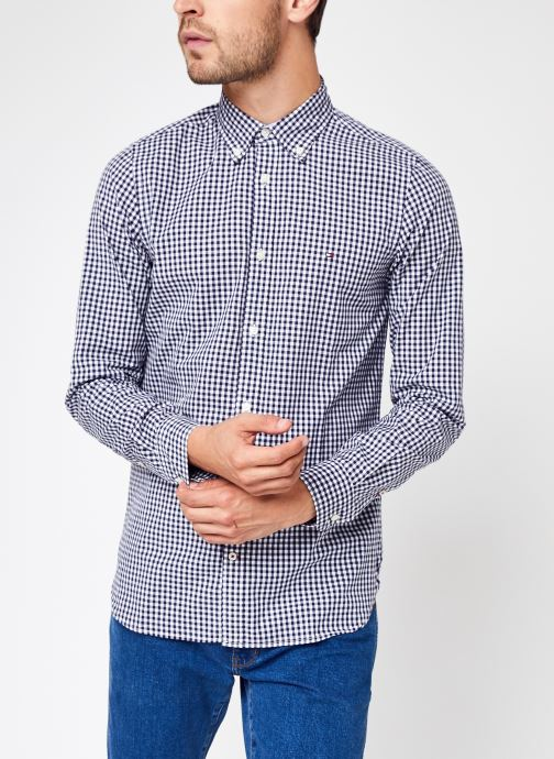 Vêtements Accessoires Slim Natural Soft Gingham Shirt