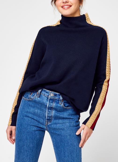 Vêtements Accessoires TARAH GLB STP MOCK SWEATER