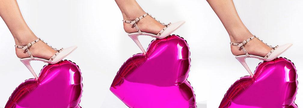 Chaussures Saint-Valentin