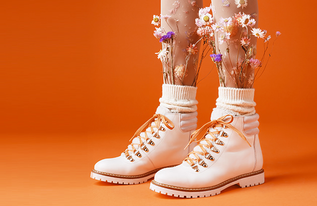 Boots beiges