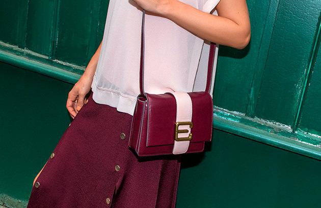 Taschen mit trendigen Linien