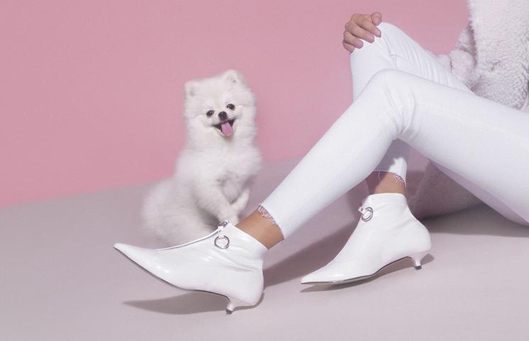 Boots pointues pour femme