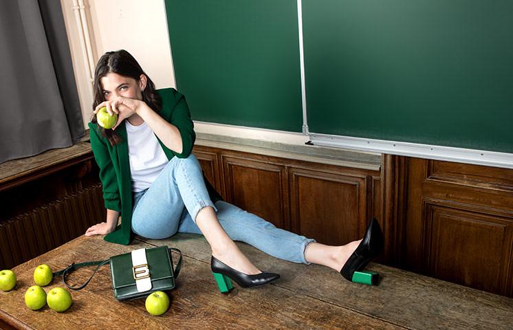Back to Work: Auswahl Damenschuhe Hoch in Farbe
