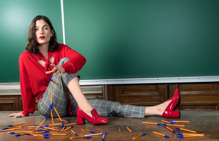 Rentrée Adulte : Sélection chaussures femme Rouge toujours