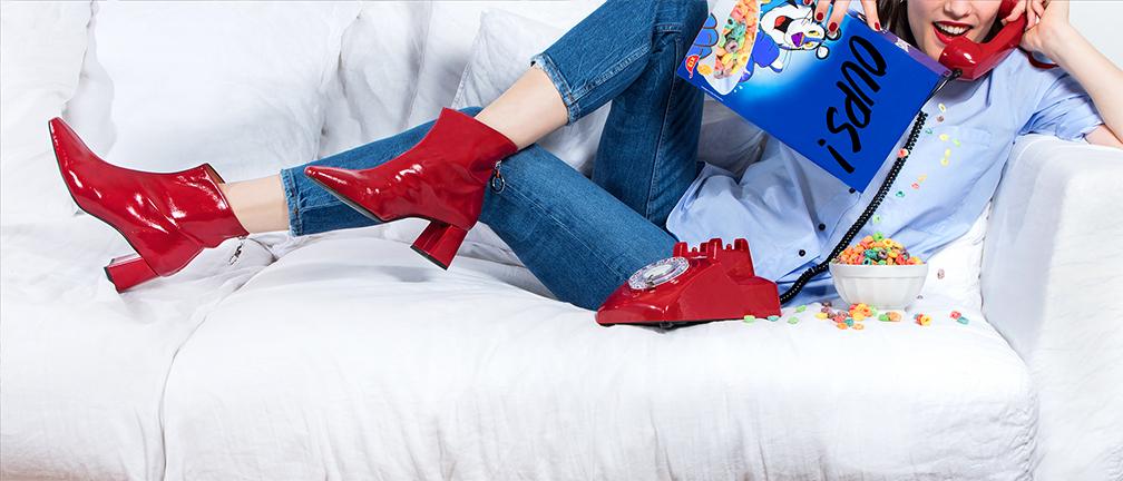Sarenza skor och väskor till man kvinna barn