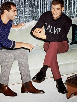 Sarenza schoenen en kleding voor heren