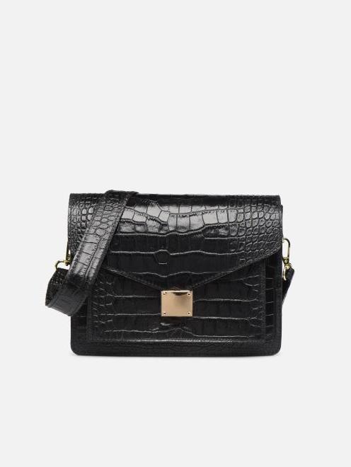 Sac à main S - Macroco Leather - Noir