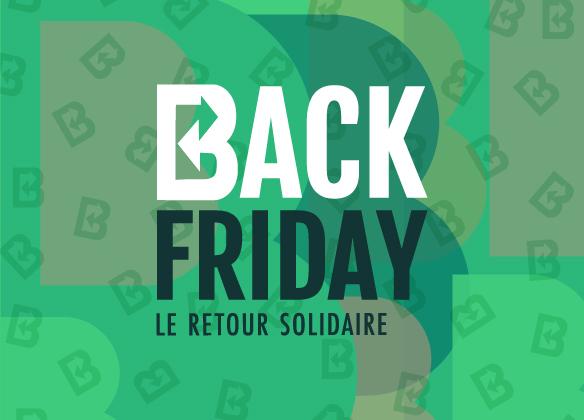 BACK FRIDAY, le retour solidaire by Sarenza