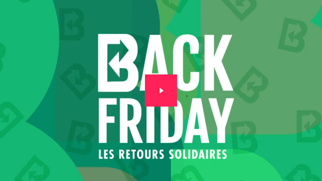 Back Friday, le retour solidaire