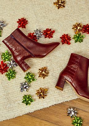 Navidad regalos reyes botines mujer AH20