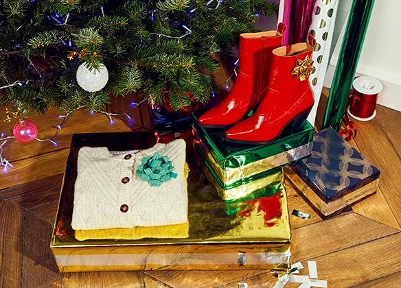 Navidad Regalos coloridos mujeres AH20
