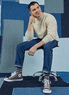 Les jeans droits