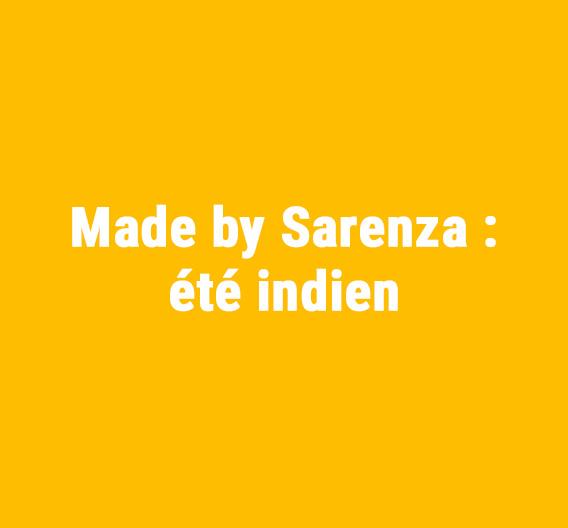 Yeah, la 1ère capsule Made by Sarenza est lancée !