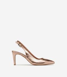 Cérémonie : chaussures nude femme