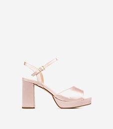 Cérémonie : sandales à talon femme