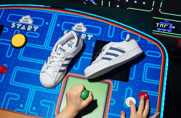 Adidas bleu clair