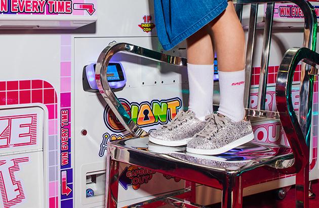 Schoenen met pailletten