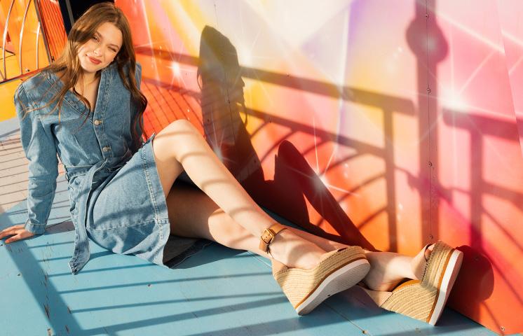 Zapatos con Platafroma See by Chloé
