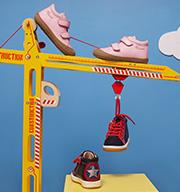 Selezione scarpe tenere bambini PE20